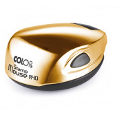 Stamp Mouse R40 GOLD Оснастка для печати диам. 40 мм
