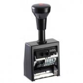 B8K Нумератор автоматический, пластм. корп., 8 разр., высота шрифта 4,5; 5,5 мм